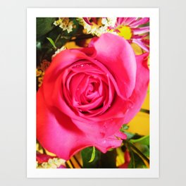 everythings rosey Art Print