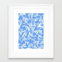 cherry blossom Framed Art Prints featuring Cherry Blossom by Elena O'Neill
