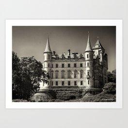 Dunrobin Castle Scotland Art Print