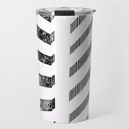 Parallel shadows inverted Travel Mug