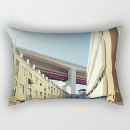 Lisboa Under The Bridge Rectangular Pillow