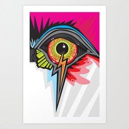 GLARE Art Print