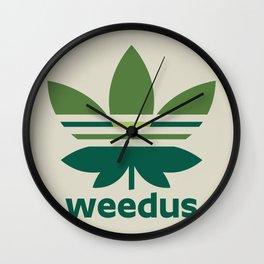 Weedus Wall Clock