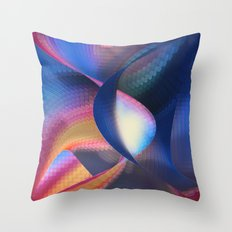 Cave of Plastic Wisdom Throw Pillow