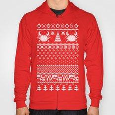 Ugly Maryland Christmas Sweater Hoody