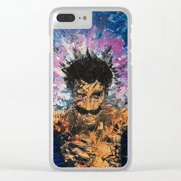 Madman in your head Clear iPhone Case