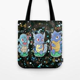Water Starters #7-9 Pokémon Tote Bag