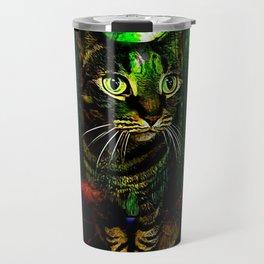 Cat Models 01- Chazzie Travel Mug