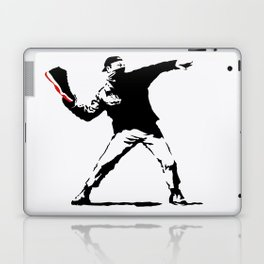 Jordan BRED 11 Thrower Laptop & iPad Skin