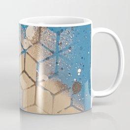 Cube Familiar Place - Made With Unicorn Dust by Natasha Dahdaleh Coffee Mug