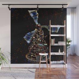 Steampunk Windmill Wall Mural