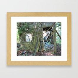 souvenir d'un temps Framed Art Print