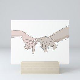 Pinky Shades Mini Art Print