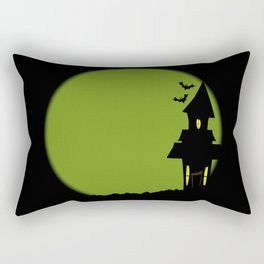 Halloween House Rectangular Pillow