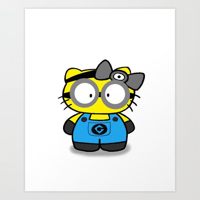 Kitty Kunstdrucke