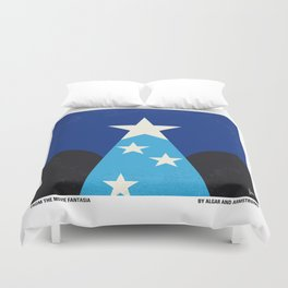 No242 My Fantasia minimal movie poster Duvet Cover