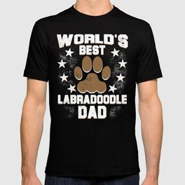 World's Best Labradoodle Dad T-shirt