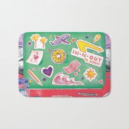 Writing My Way Out by Chrissy Curtin Bath Mat