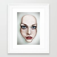 milk Framed Art Prints featuring Milk by Jordygraph