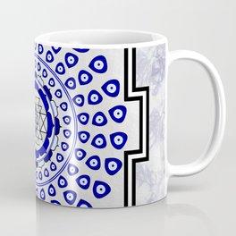 108 Evil Eye Sri Yantra Coffee Mug