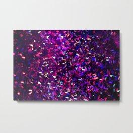 fascination in purple Metal Print