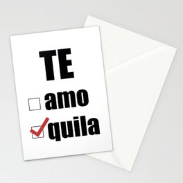 Te quila Stationery Cards