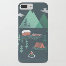 Pitch a Tent iPhone Case
