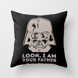 LOOK, I AM YOUR FATHER Throw Pillow