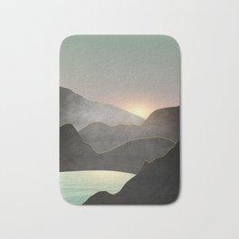 Minimal Landscape 03 Bath Mat