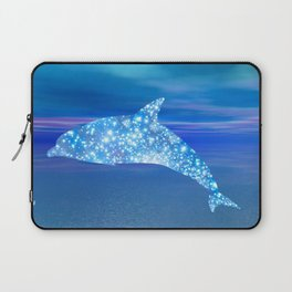 Star Dolphin Laptop Sleeve