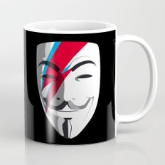 Who wants to be Anonymous? Let's be Fabulous! Viggy Starfawkes. Coffee Mug