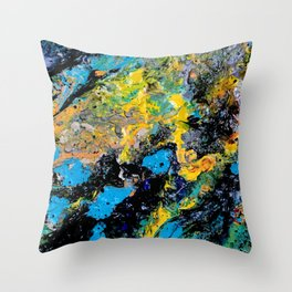 Maybe from above Throw Pillow