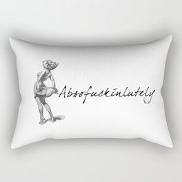 Absofu©kinlutely Rectangular Pillow