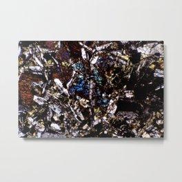 Pyroxene and Feldspar Metal Print