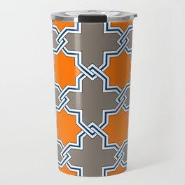 Ancient South Italian Majolica Tile Travel Mug