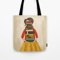Marlowe Visits the Library Tote Bag