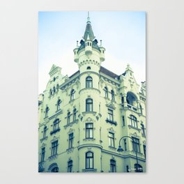 Like a castle Canvas Print