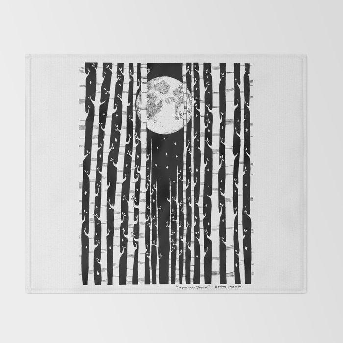 MoonLight Dream Throw Blanket