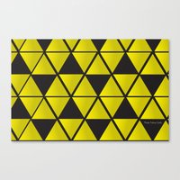 triforce Canvas Prints featuring Triforce  by Stephanie Williams