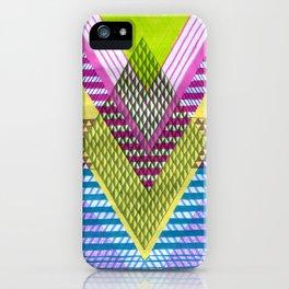 Isometric Harlequin #7 iPhone Case