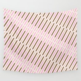 Japanese Chocolate Biscuit Sticks Wall Tapestry