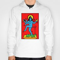 keith haring Hoodies featuring Shiva Keith Haring Tribute by Tshirtbaba