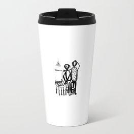 My friends artists Travel Mug
