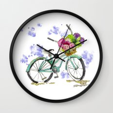 Fresh from the Market Wall Clock