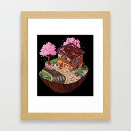 Japanese Bakery Framed Art Print