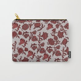 red flowers . ( https://society6.com/totalflora/collection ) Carry-All Pouch