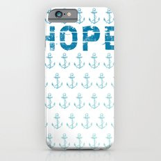 Hope Anchor Pattern iPhone 6s Slim Case