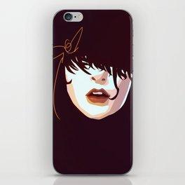 Blue Face iPhone Skin