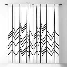 Arrows Blackout Curtain