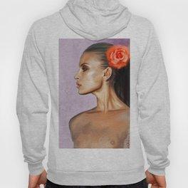 The Black Goddess - Flowers In Her Hair Hoody
